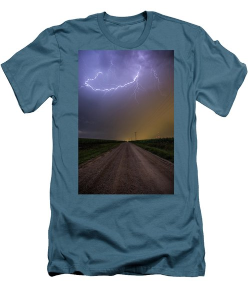 Men's T-Shirt (Athletic Fit) featuring the photograph Smiley  by Aaron J Groen