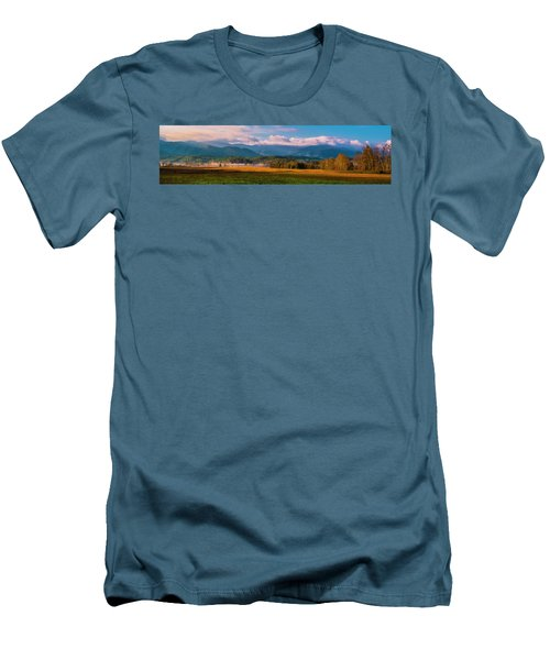 Smoky Mountains At Cades Cove I Men's T-Shirt (Athletic Fit)