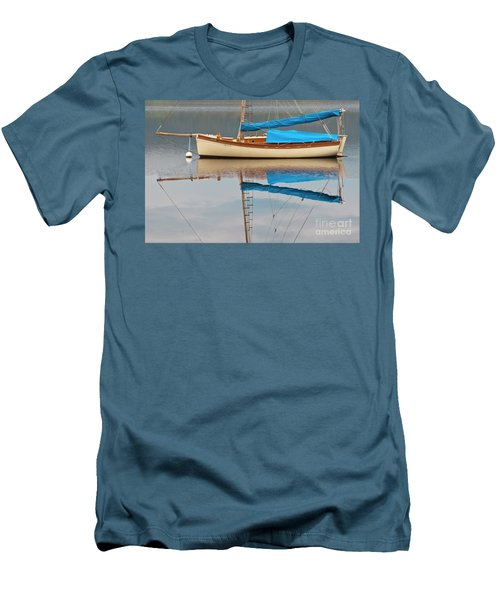Men's T-Shirt (Slim Fit) featuring the photograph Smooth Sailing by Werner Padarin