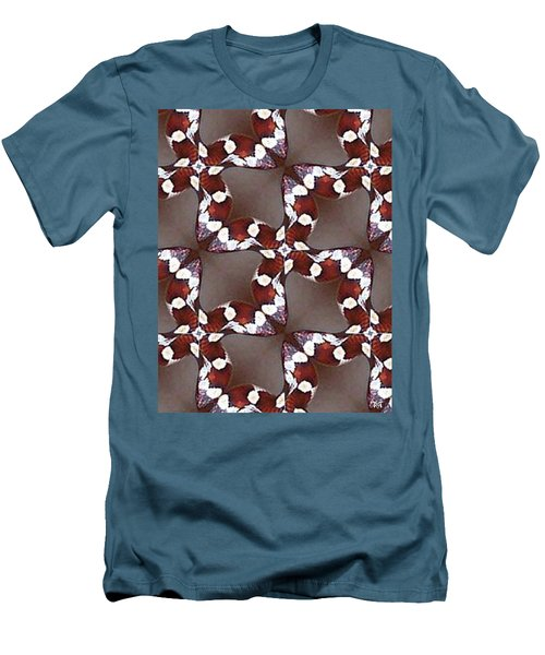 Snake I Men's T-Shirt (Slim Fit) by Maria Watt
