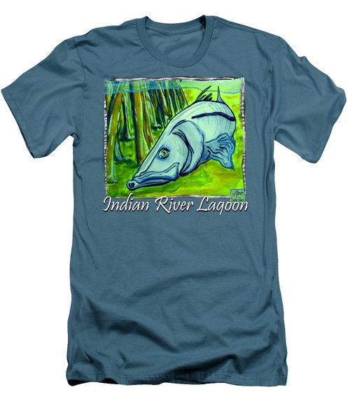 Snook Fish Men's T-Shirt (Athletic Fit)