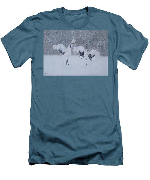 Snow Dancers Men's T-Shirt (Athletic Fit)