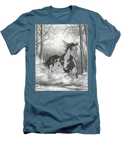 Snow Driftin' Men's T-Shirt (Slim Fit)
