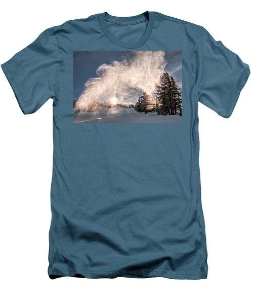 Snow Flume Men's T-Shirt (Athletic Fit)