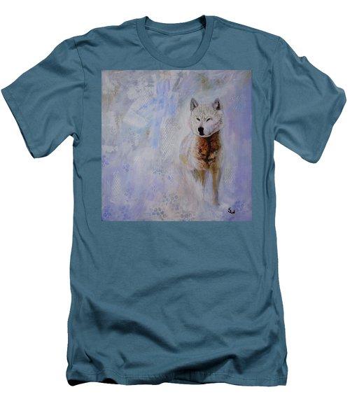 Snow Fox Men's T-Shirt (Athletic Fit)