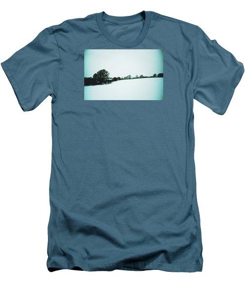 Snow In Sussex Men's T-Shirt (Slim Fit) by Anne Kotan