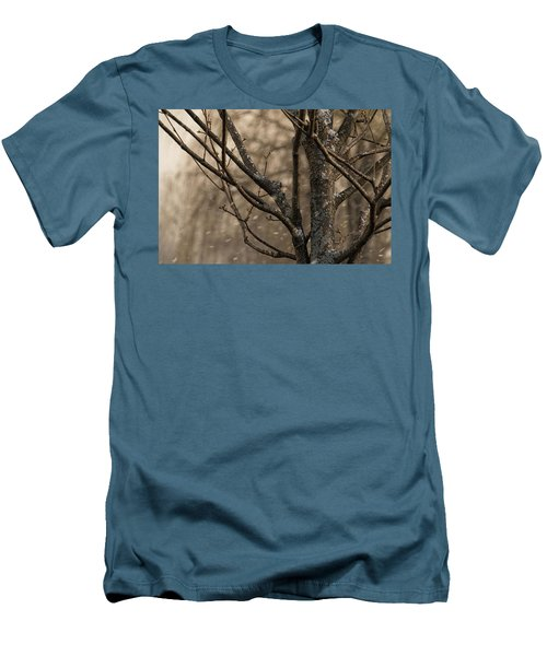 Snow In The Air - Men's T-Shirt (Athletic Fit)