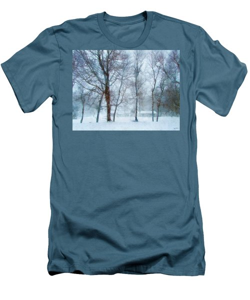 Snow Place Like Home Men's T-Shirt (Athletic Fit)