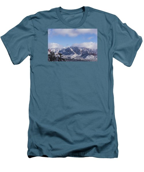 Snow Rim Men's T-Shirt (Athletic Fit)