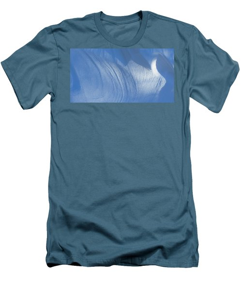 Snow Sculpted By The Wind Men's T-Shirt (Athletic Fit)