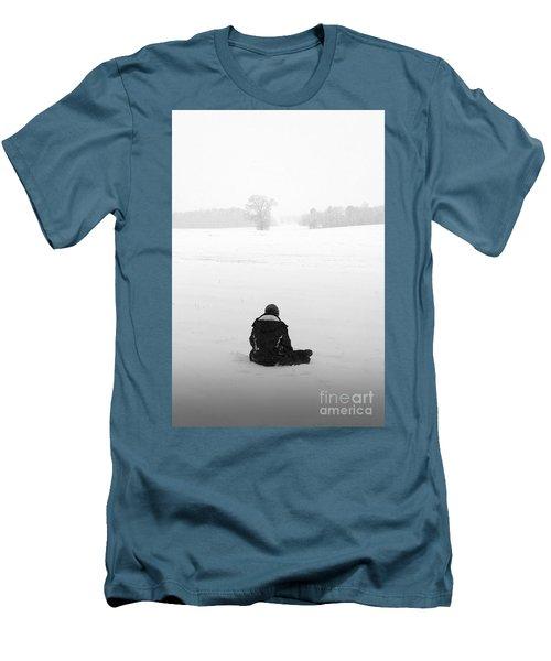 Men's T-Shirt (Slim Fit) featuring the photograph Snow Wonder by Brian Jones