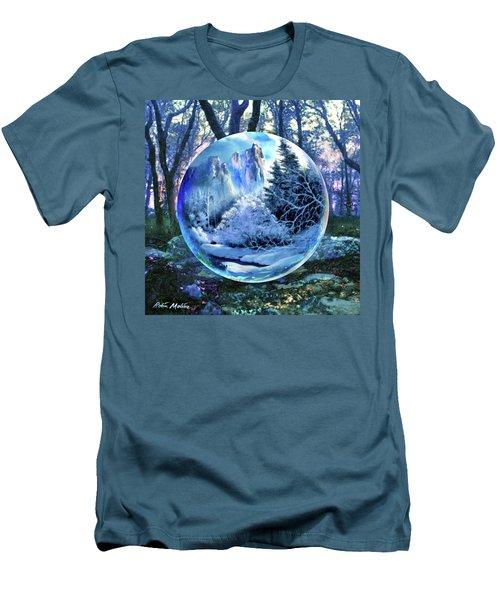 Snowglobular Men's T-Shirt (Athletic Fit)