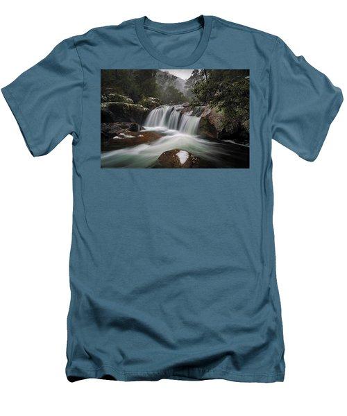Snowy Mist Men's T-Shirt (Athletic Fit)
