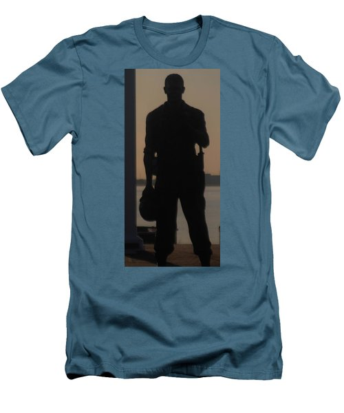 Men's T-Shirt (Slim Fit) featuring the photograph So Help Me God by John Glass