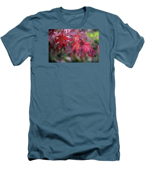 Soaked Men's T-Shirt (Slim Fit) by Yumi Johnson