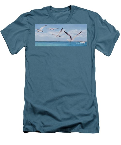 Soaring Men's T-Shirt (Athletic Fit)
