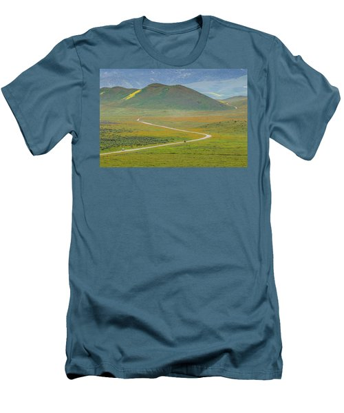 Soda Lake Road Men's T-Shirt (Slim Fit) by Marc Crumpler
