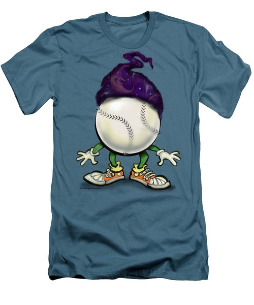 Softball Wizard Men's T-Shirt (Slim Fit) by Kevin Middleton