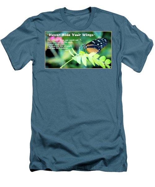 Solitude Moments Men's T-Shirt (Slim Fit) by Deborah Klubertanz