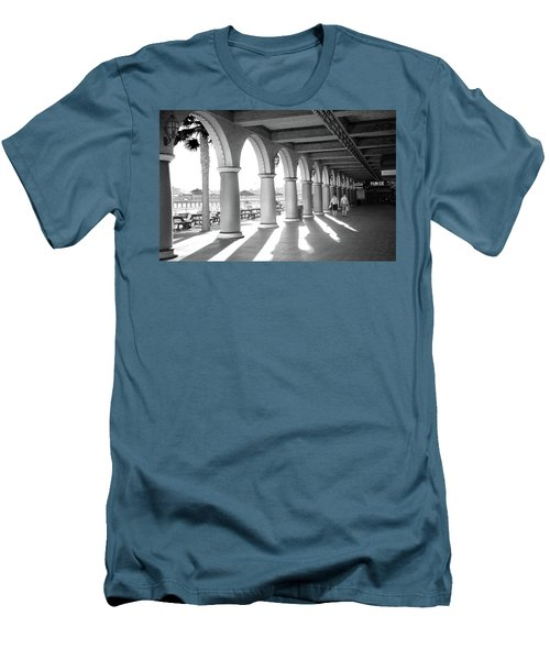 Men's T-Shirt (Athletic Fit) featuring the photograph Sometimes The Party Is Over by Lora Lee Chapman