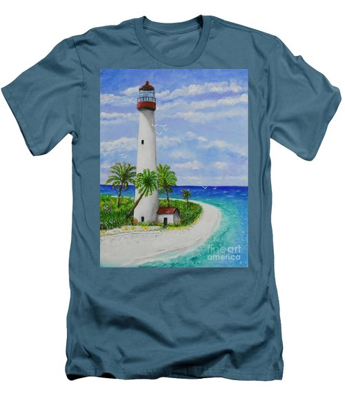 Somewhere Beautiful Men's T-Shirt (Athletic Fit)