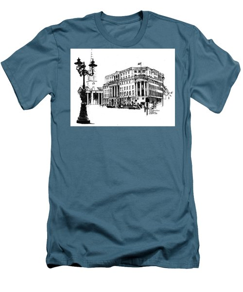 South Africa House Men's T-Shirt (Slim Fit) by Tim Johnson