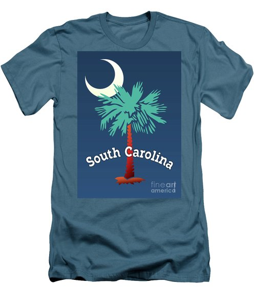 South Carolina Palmetto Men's T-Shirt (Athletic Fit)