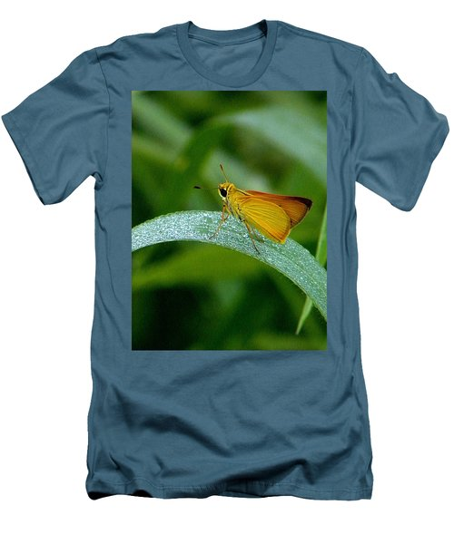 Southern Skipperling Butterfly  000 Men's T-Shirt (Slim Fit) by Chris Mercer