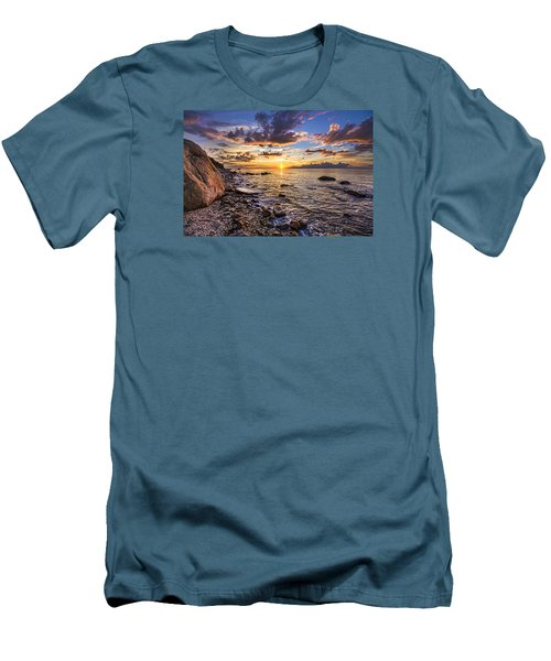 Southold Sunset Men's T-Shirt (Athletic Fit)