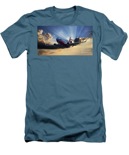 Southwest Dramatic Rays Of Light Men's T-Shirt (Athletic Fit)