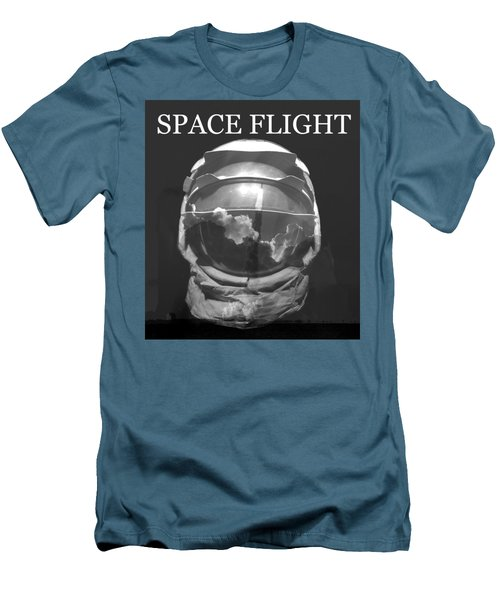 Men's T-Shirt (Slim Fit) featuring the photograph Space Flight by David Lee Thompson