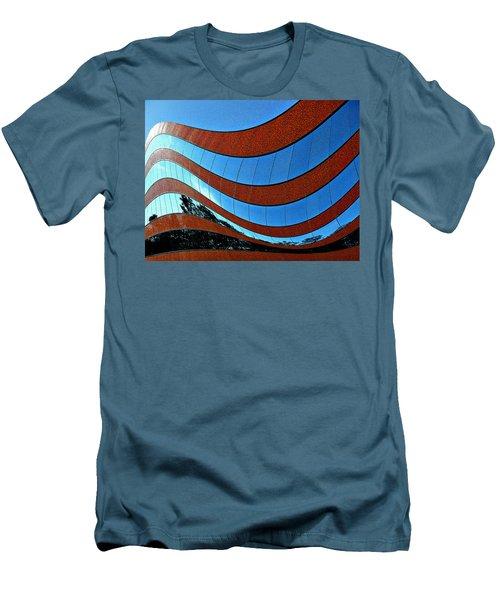 Space Geometry #8 Men's T-Shirt (Slim Fit) by Alex Galkin