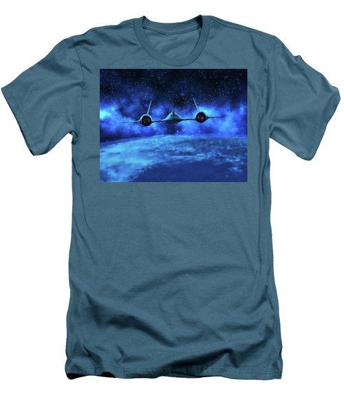 Spaceward Men's T-Shirt (Slim Fit) by Dave Luebbert