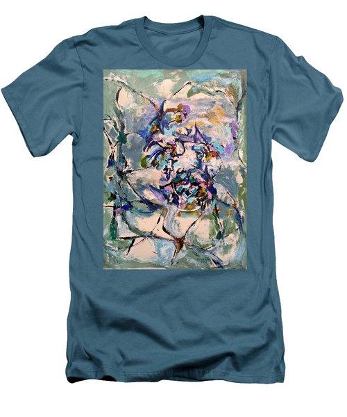Spacial Encounter Men's T-Shirt (Athletic Fit)