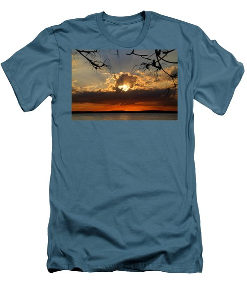 Spectacular Cuban Sunset Men's T-Shirt (Athletic Fit)