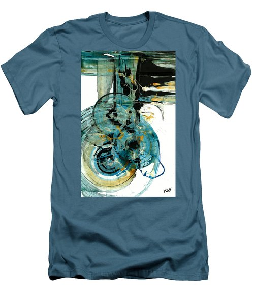 Spherical Joy Series 210.012011 Men's T-Shirt (Slim Fit) by Kris Haas