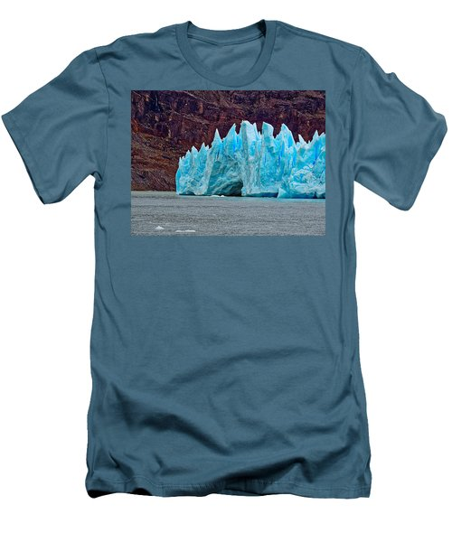 Spires Of Blue Men's T-Shirt (Athletic Fit)