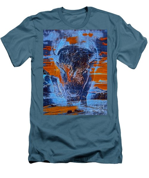 Spirit Of The Buffalo Men's T-Shirt (Athletic Fit)