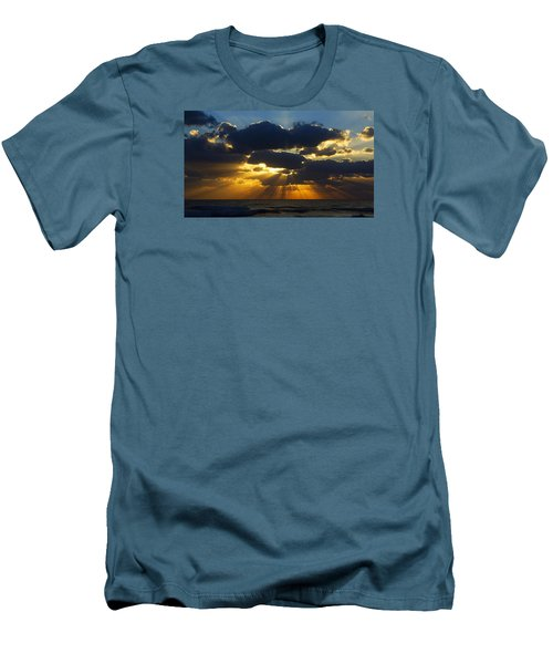 Spiritually Uplifting Sunrise Men's T-Shirt (Athletic Fit)
