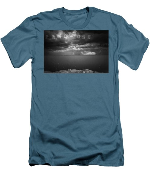 Men's T-Shirt (Slim Fit) featuring the photograph Spoken by Mark Ross