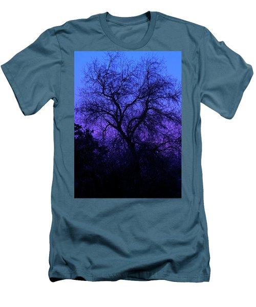 Spooky Tree Men's T-Shirt (Slim Fit) by Paul Marto