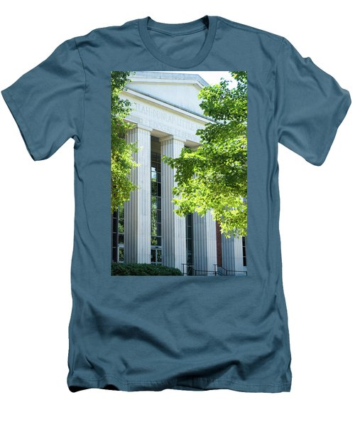 Men's T-Shirt (Slim Fit) featuring the photograph Spring At Uga by Parker Cunningham