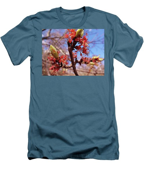 Spring Bloom #1 Men's T-Shirt (Athletic Fit)