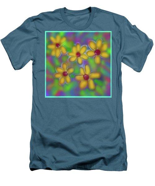 Spring Fever Men's T-Shirt (Slim Fit) by Latha Gokuldas Panicker
