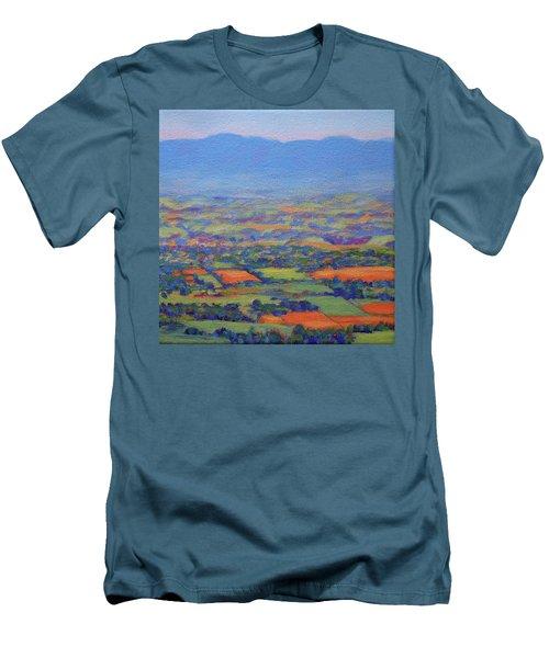 Spring Patchwork 3 Men's T-Shirt (Slim Fit) by Bonnie Mason