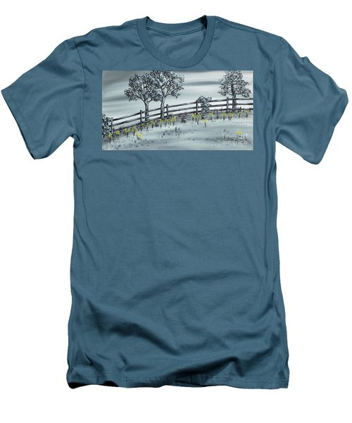 Spring Time Men's T-Shirt (Slim Fit) by Kenneth Clarke