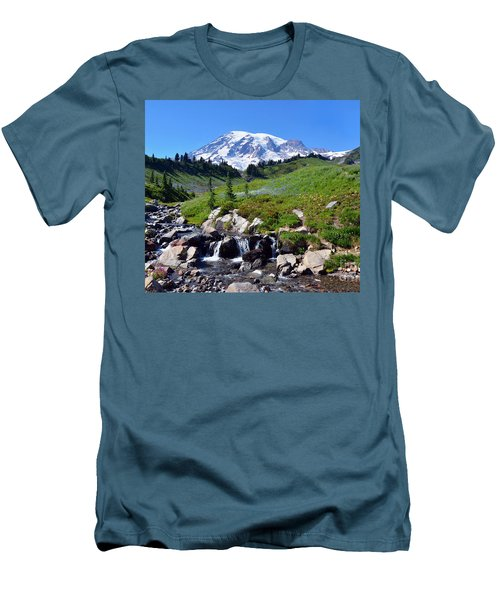 Springtime At Paradise 3 Men's T-Shirt (Athletic Fit)