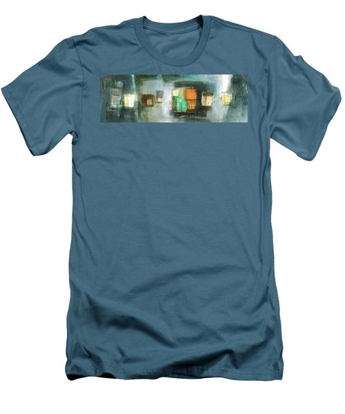 Square91.5 Men's T-Shirt (Slim Fit) by Behzad Sohrabi