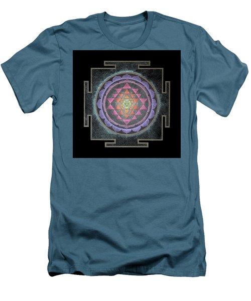 Sri Yantra Men's T-Shirt (Athletic Fit)
