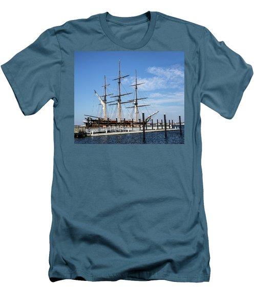 Ssv Oliver Hazard Perry Men's T-Shirt (Slim Fit) by Nancy De Flon